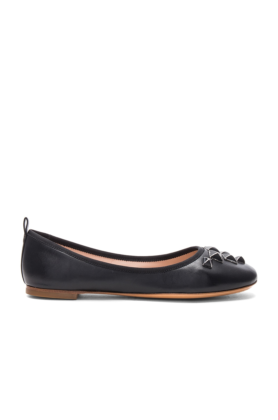 Cleo Studded Ballerina Flat by Marc Jacobs