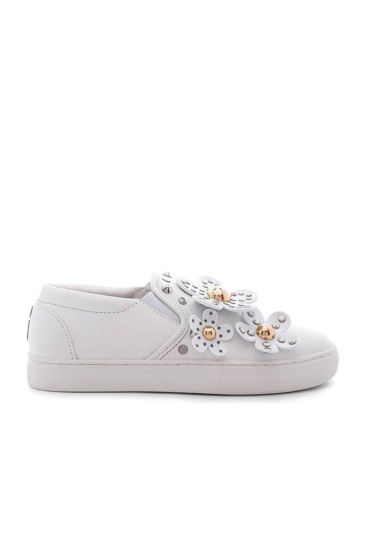 Marc Jacobs Daisy Studded Slip On Sneaker in White