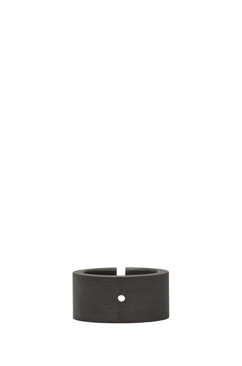 Marmol Radziner Wide Heavyweight Cut Ring in Dark Bronze