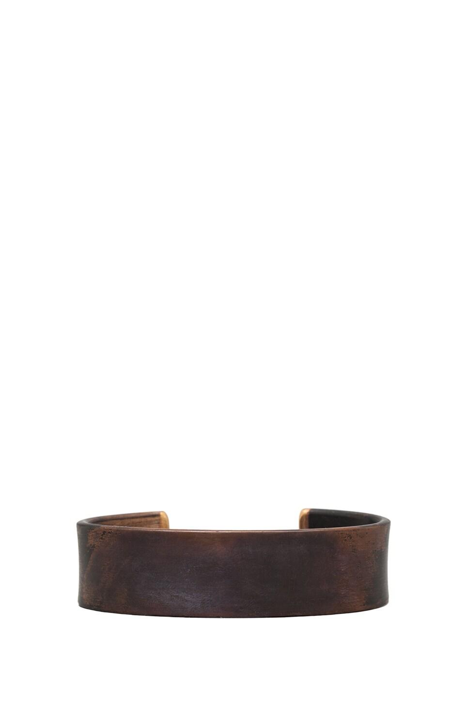 Marmol Radziner Men's Standard Cuff in Torched Bronze