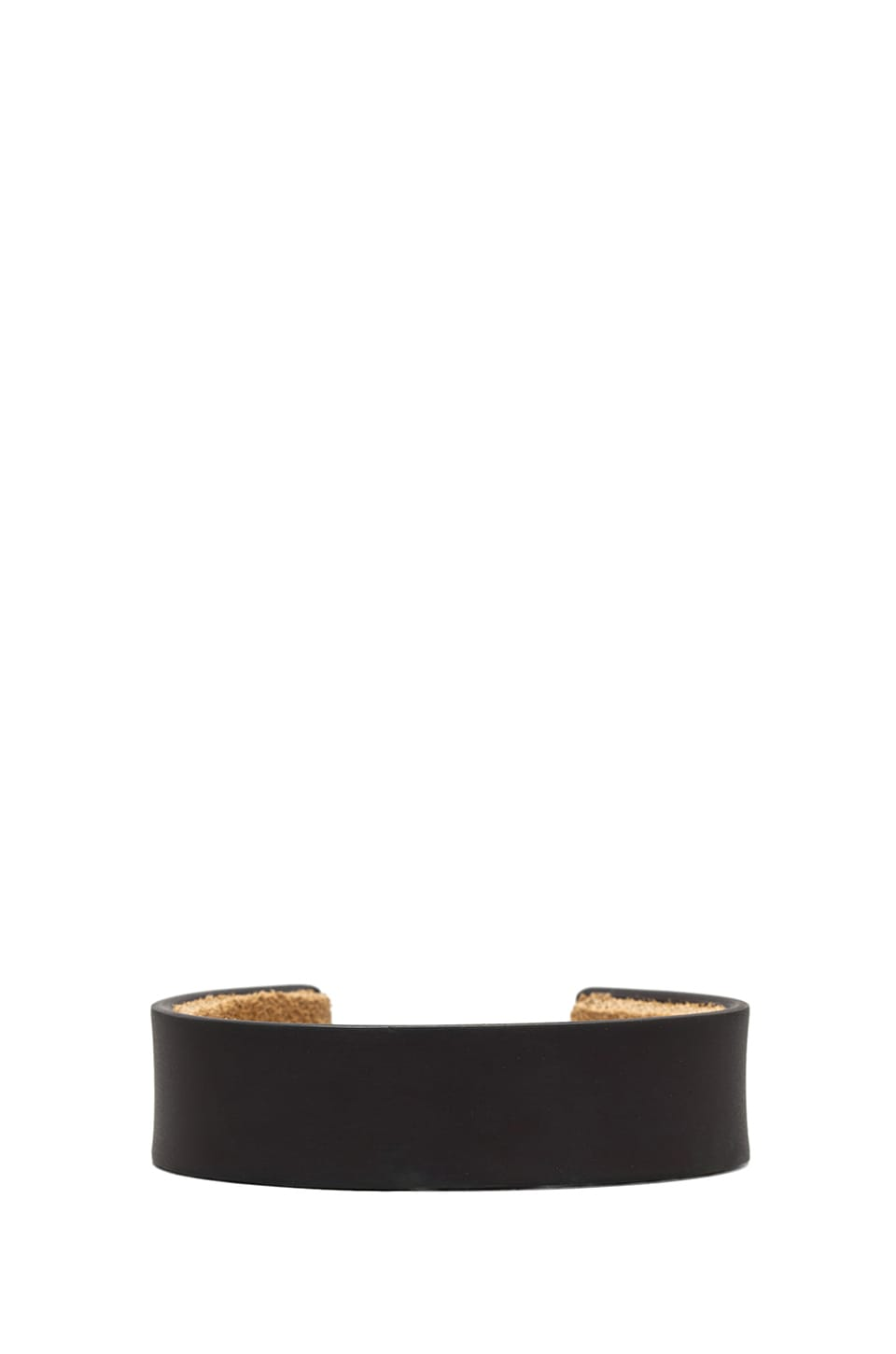 Marmol Radziner Men's Suede Lined Standard Cuff in Dark Bronze