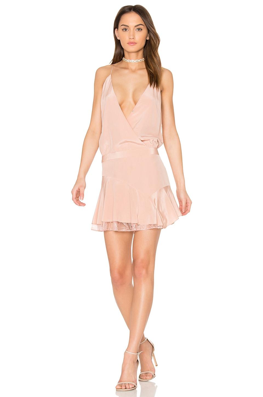 x REVOLVE Cami Ruffle Mini Dress by Michelle Mason