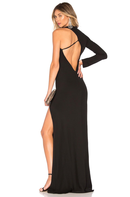 Michelle Mason Asymmetrical Back Gown