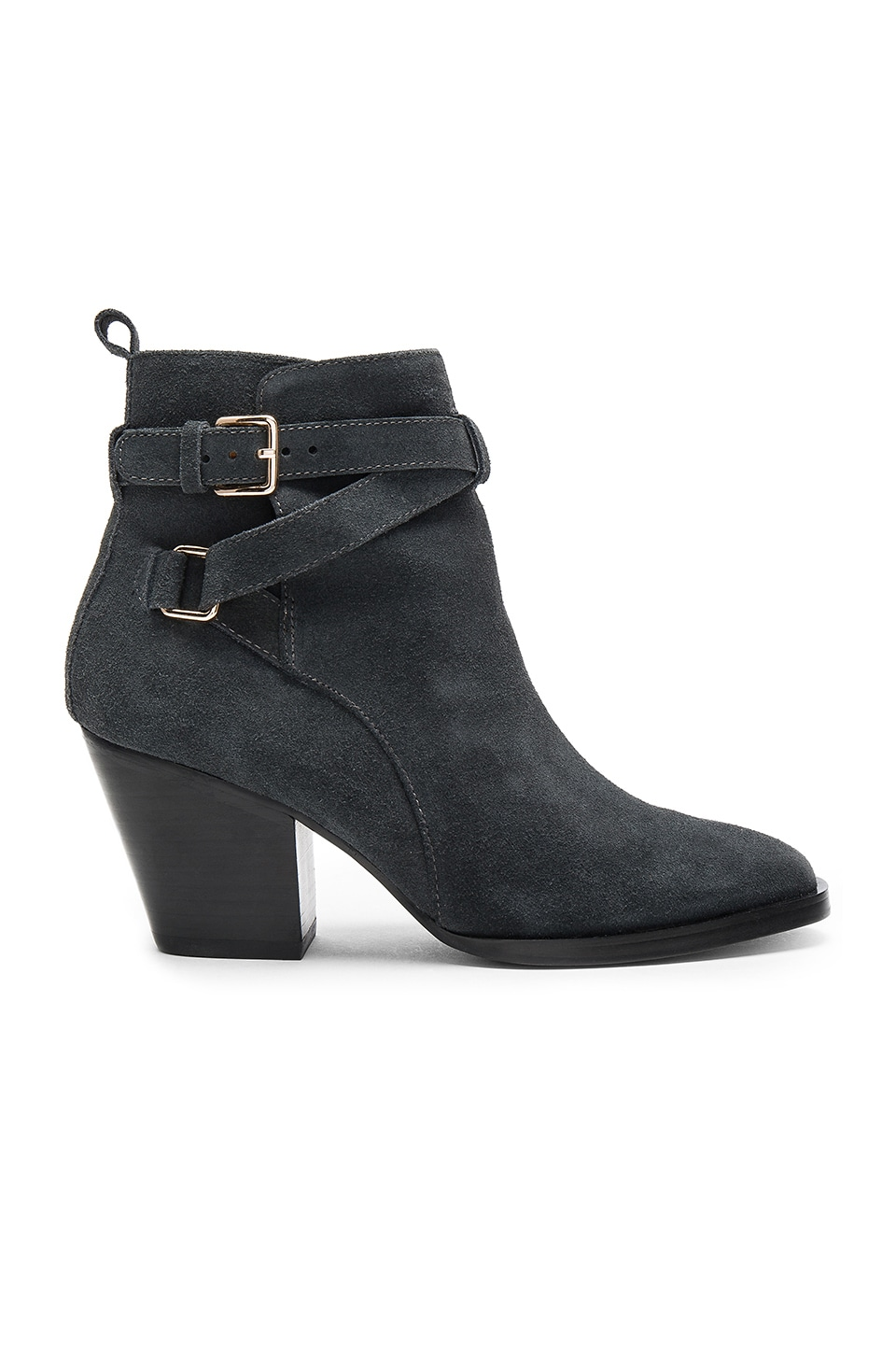 Matiko Amie Booties in Dark Grey