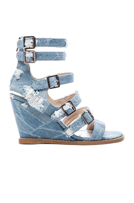 Matisse Honor Sandal in Denim
