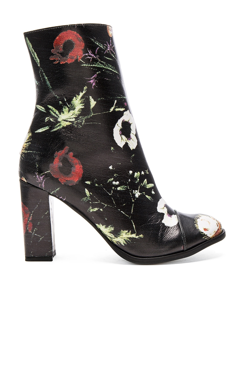 Matisse Graffiti Booties in Black Floral