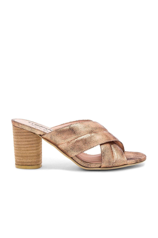 Matisse Shine On Heel in Rose Gold