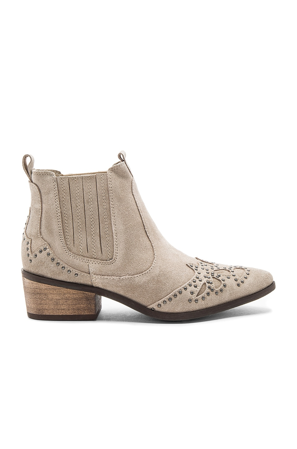 Matisse Backstage Booties in Taupe