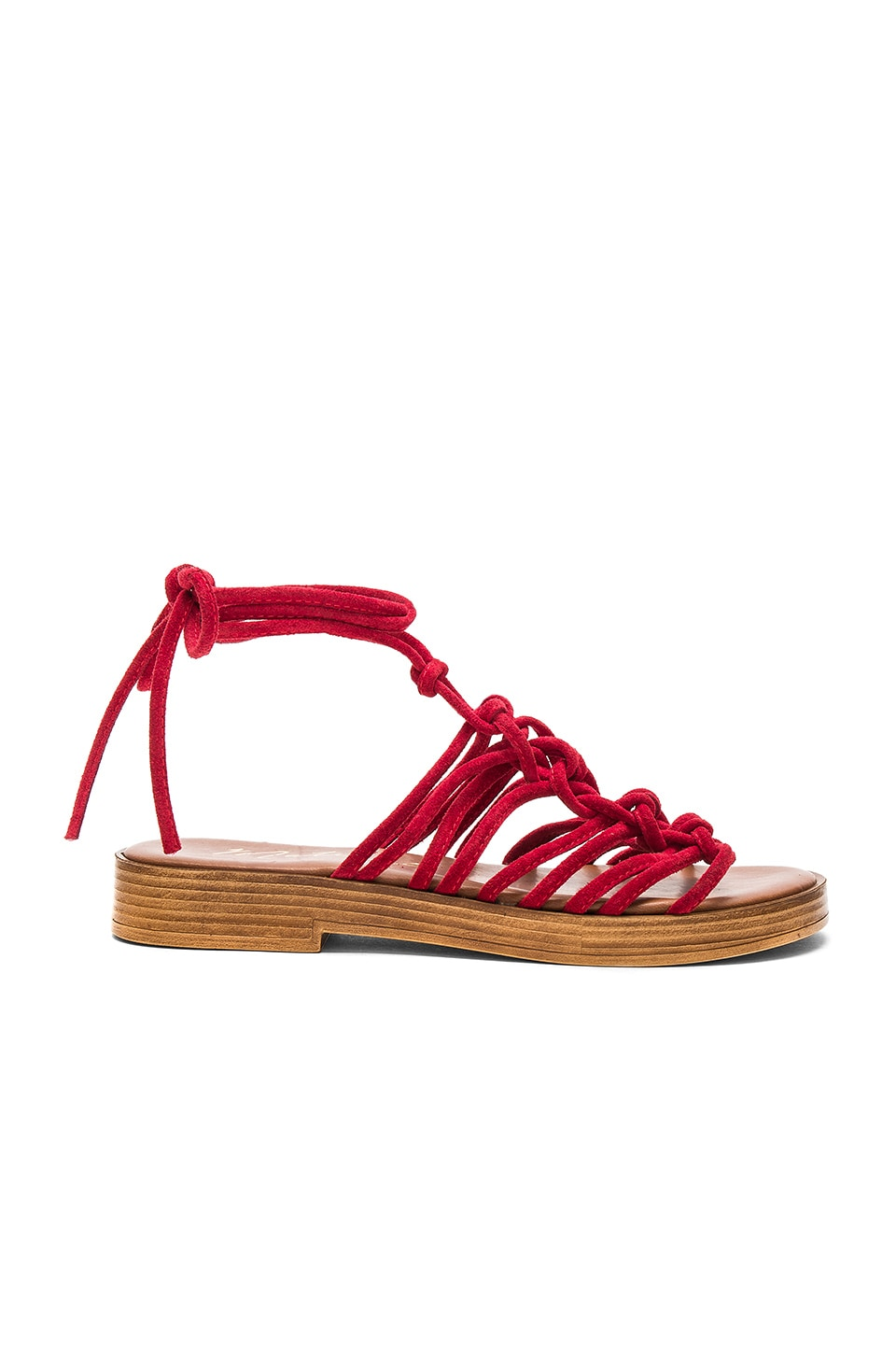 Matisse Origin Sandal in Red