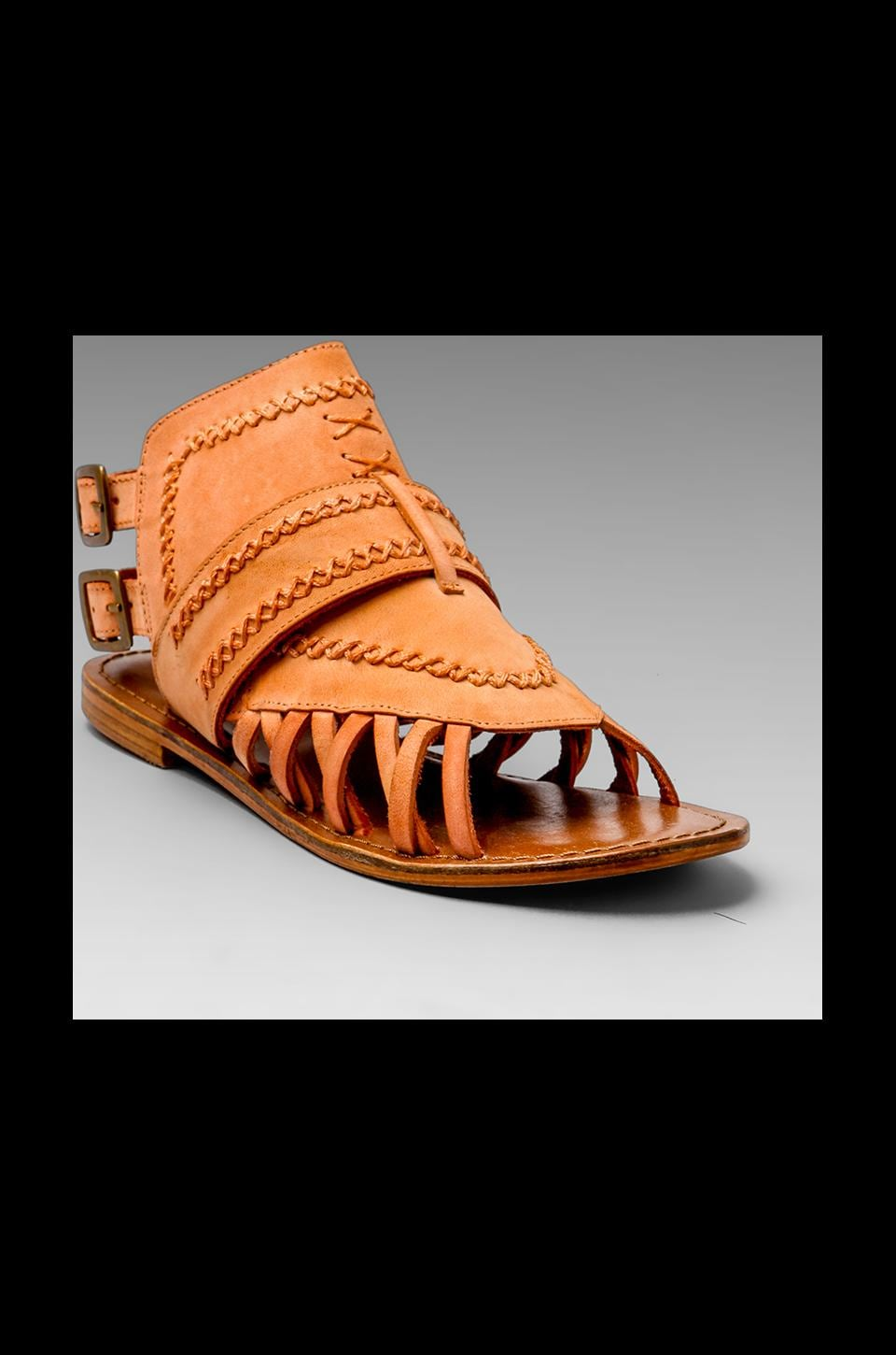 Matisse Tourist Gladiator Sandal in Rust