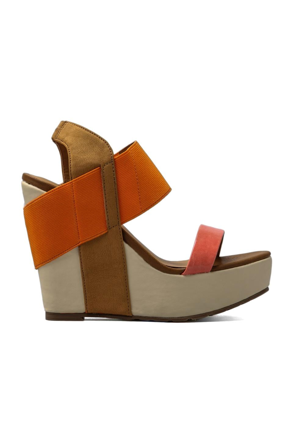 Matisse Barbary Wedge in Orange
