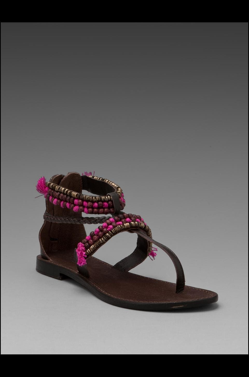 Matisse Mombasa Sandal in Chocolate