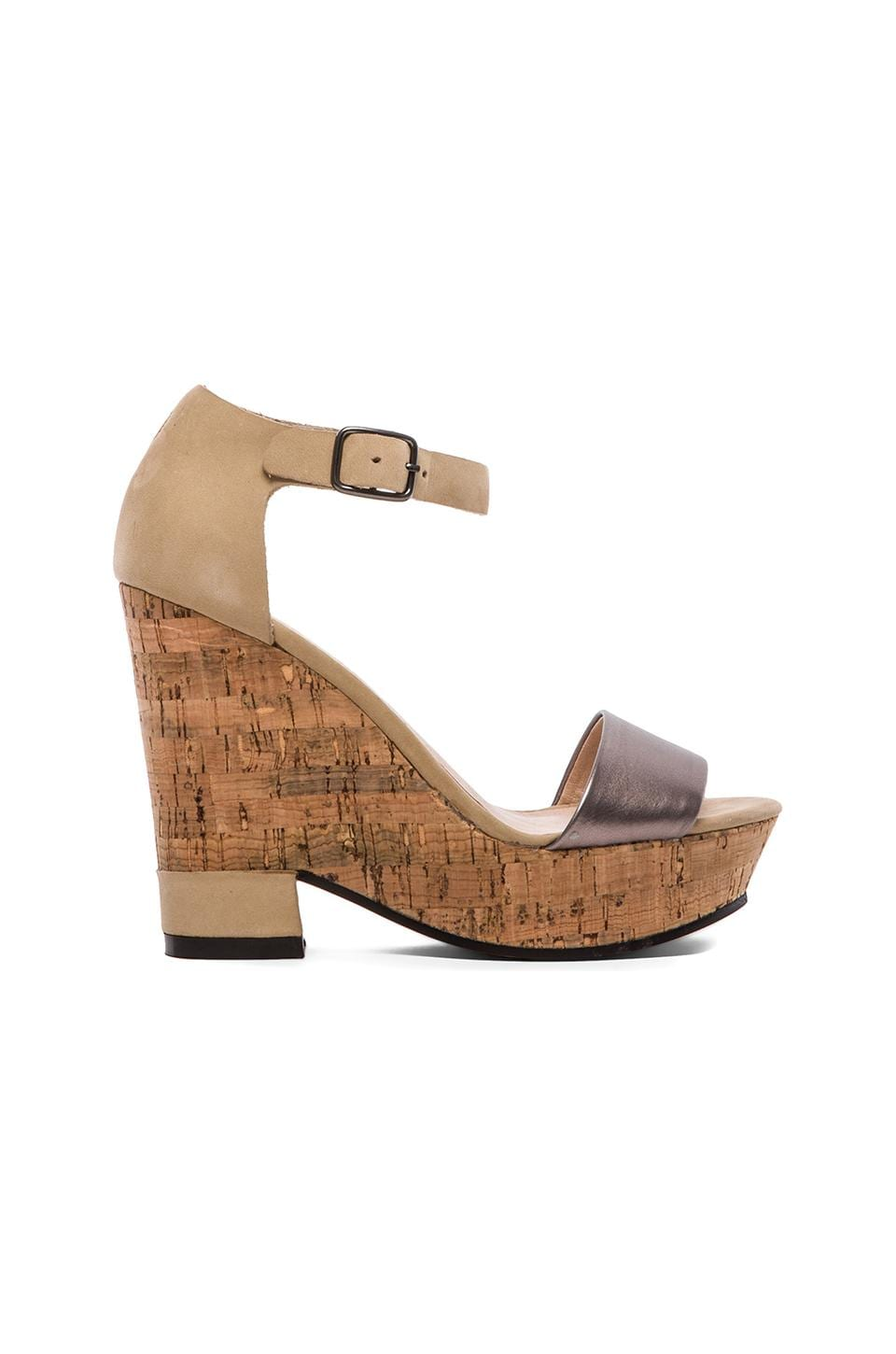 Matisse Eternity Wedge in Ivory