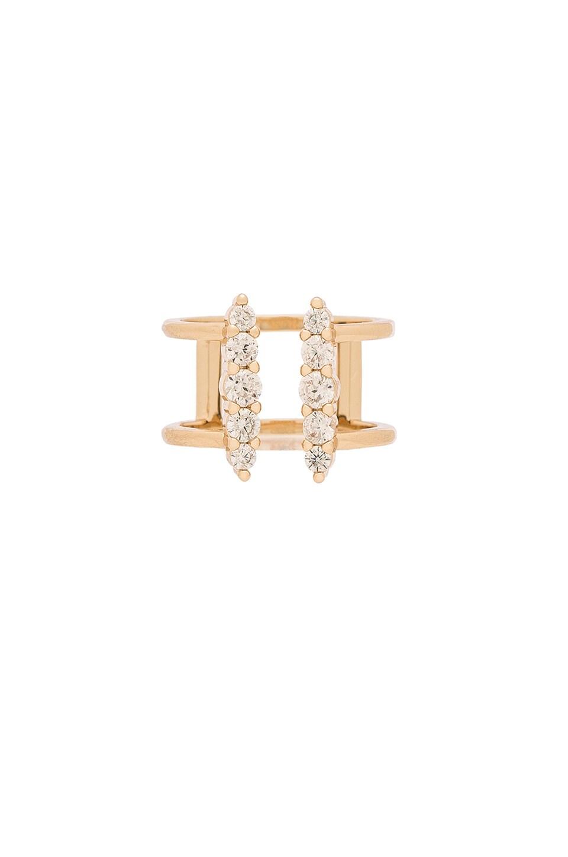 Melanie Auld Shimmer Ring in Gold