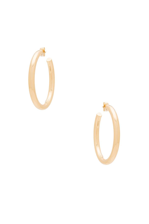Melanie Auld Modern Hoop Earring in Gold