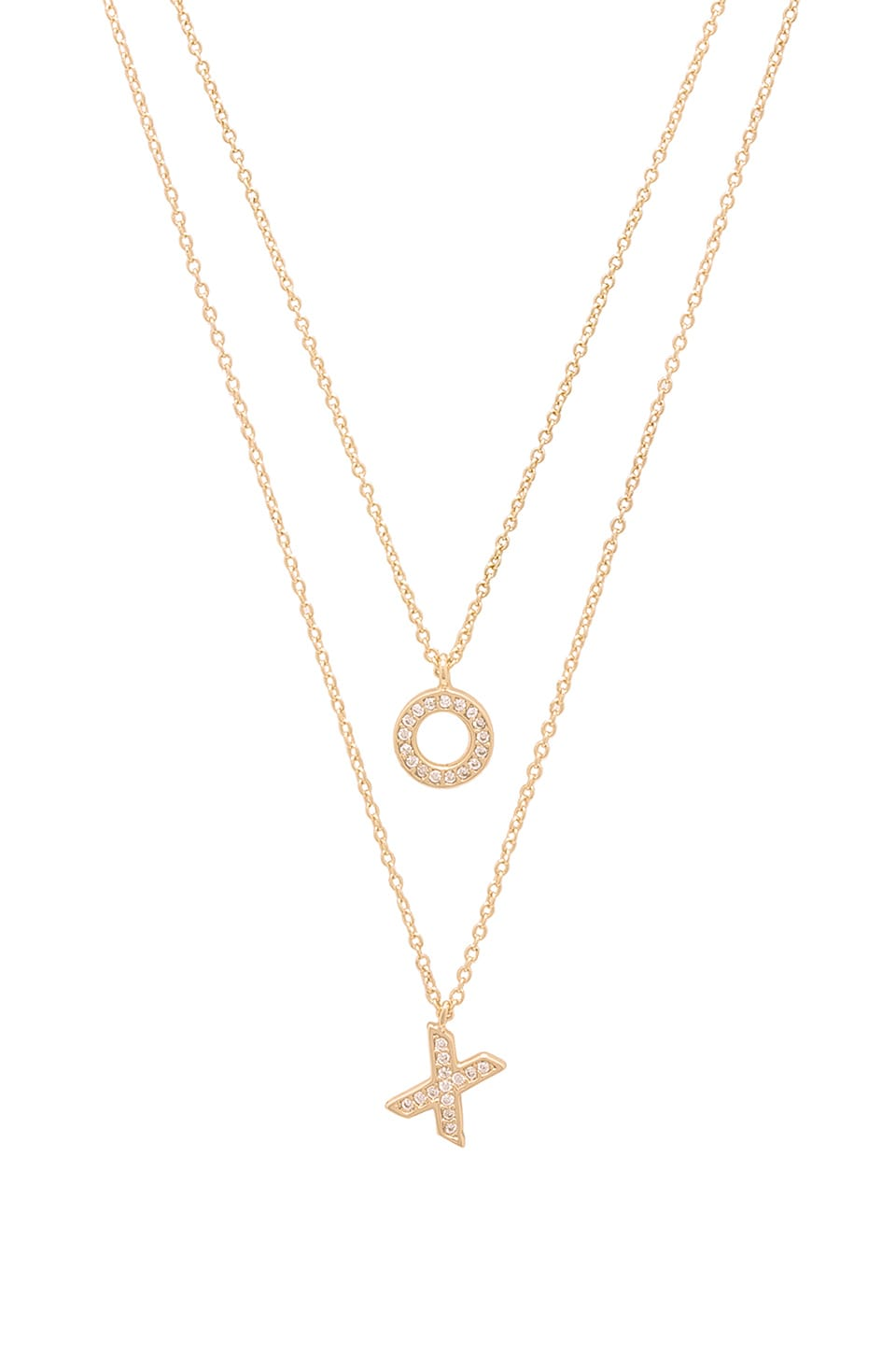 X REVOLVE XO Necklace Set