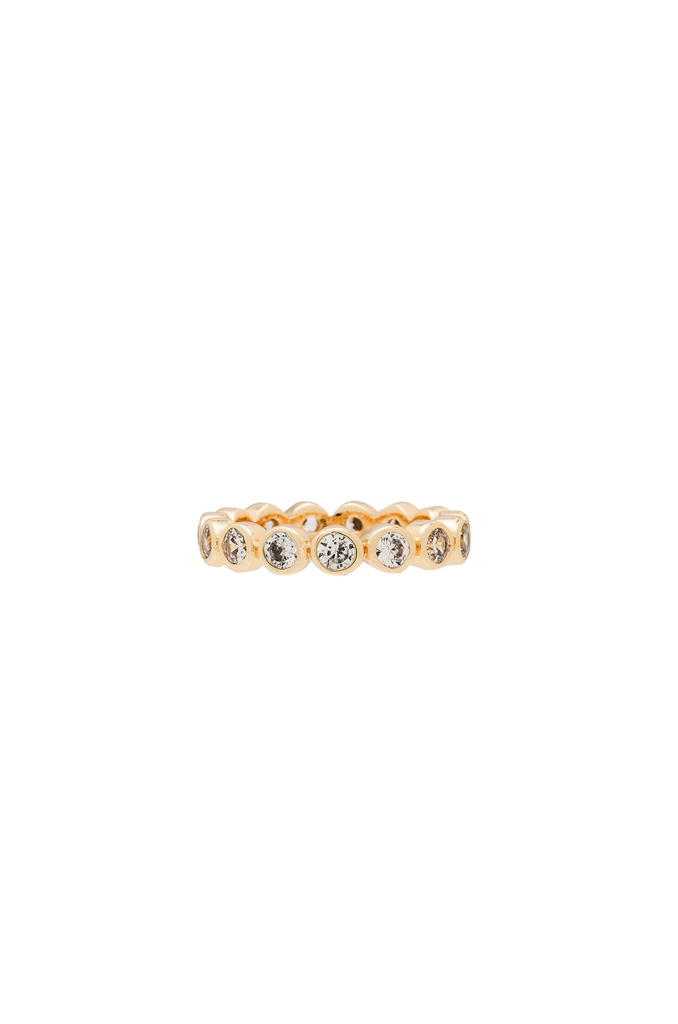 Melanie Auld Eternity Stacking Ring in Gold