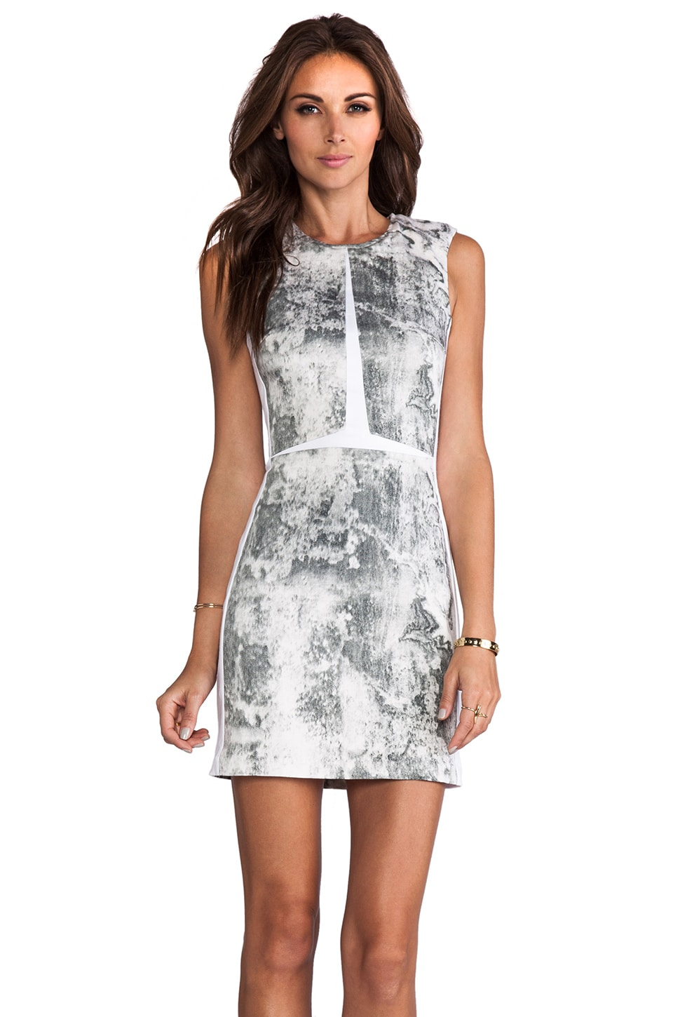 Maurie & Eve Flashback Dress in Concrete