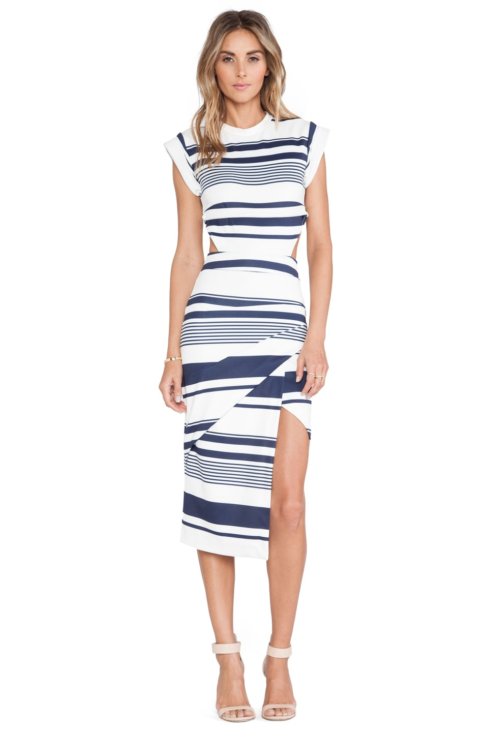Maurie & Eve Infinite Cage Dress in Quest Print