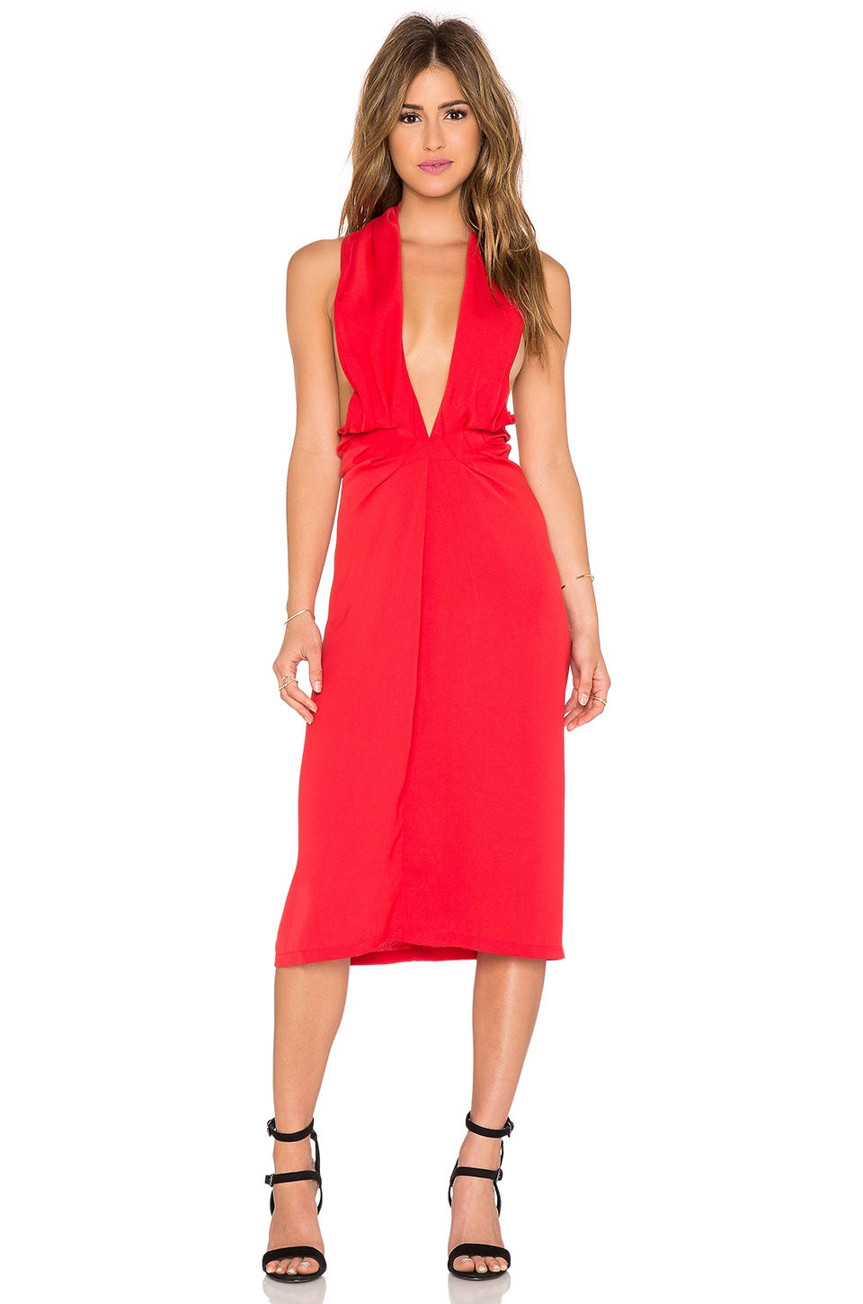 Maurie & Eve Toussaint Dress in Rouge