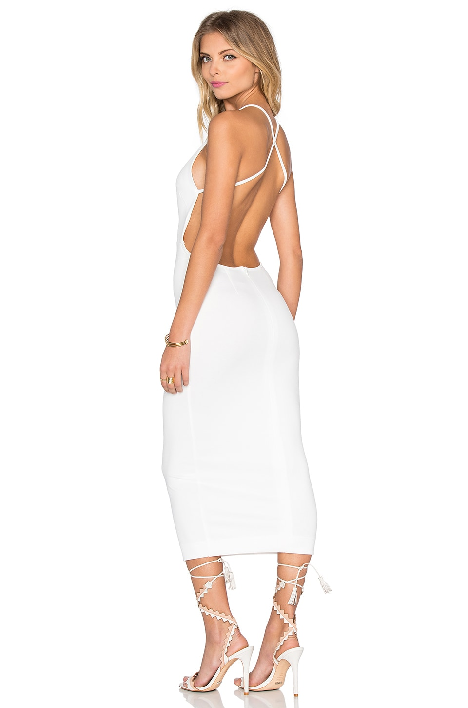 Maurie & Eve Kahlo Dress in White