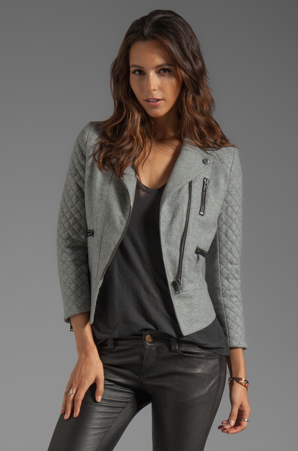 MAX FOWLES Lady Jacket in Grey