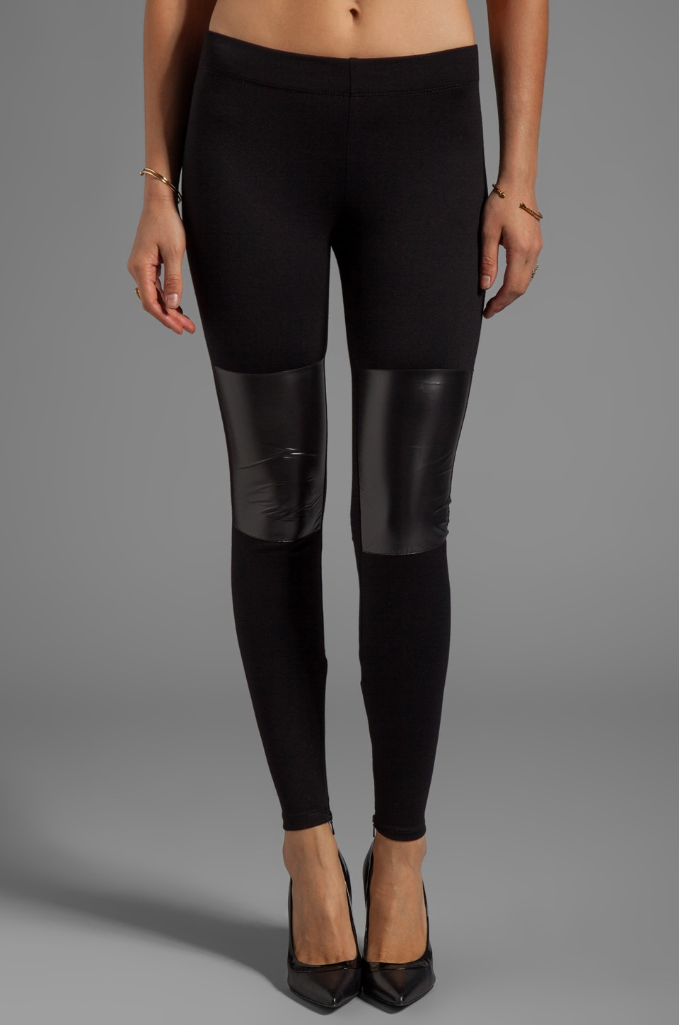 MAX FOWLES Sport Legging in Black
