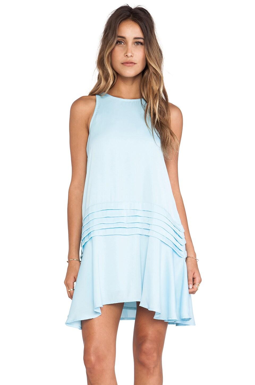 May. Slice Dress Dress in Mint