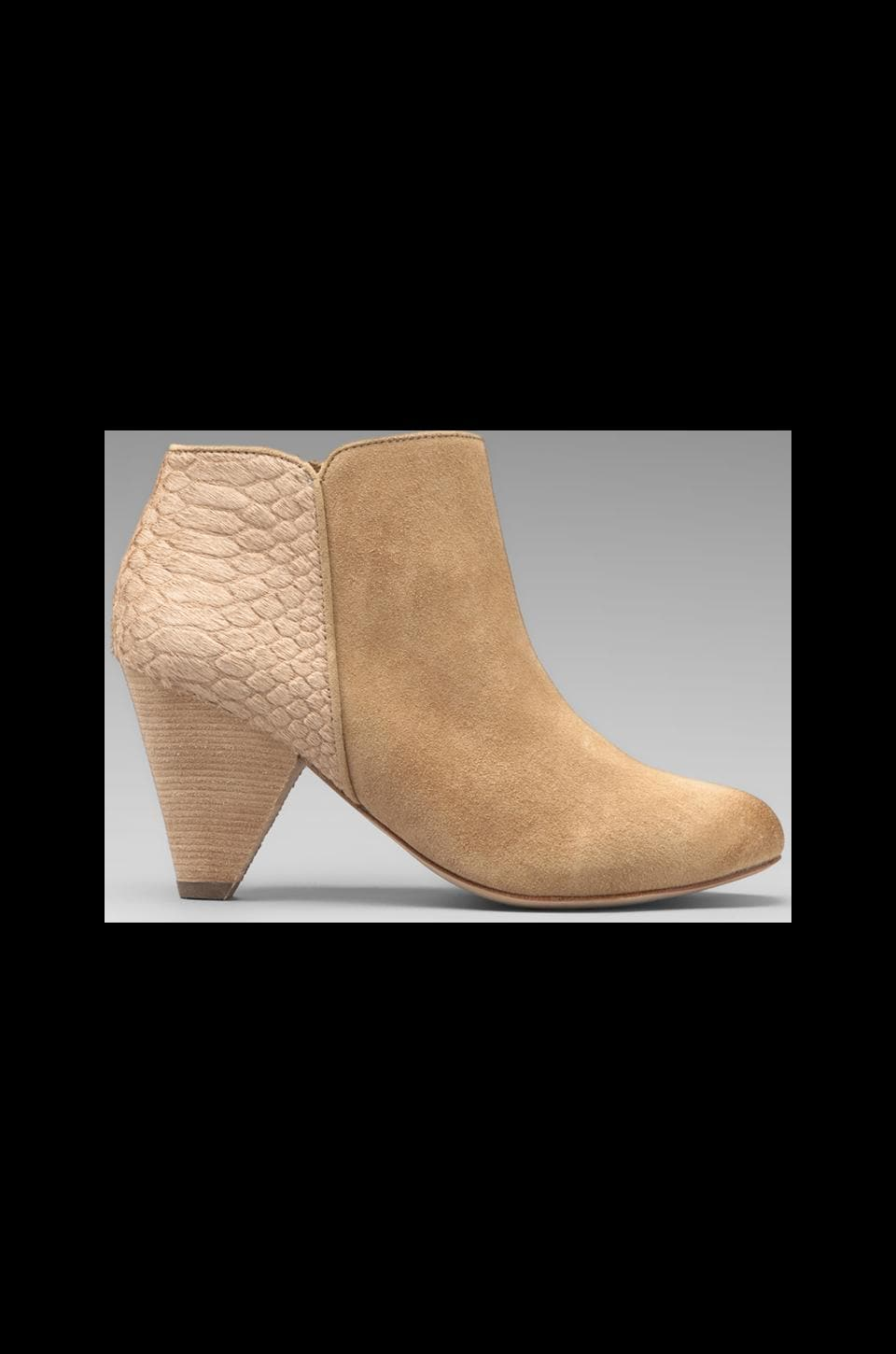 Matt Bernson Wildfox Pony Bootie with Calf Hair in Camel/Camel Pony