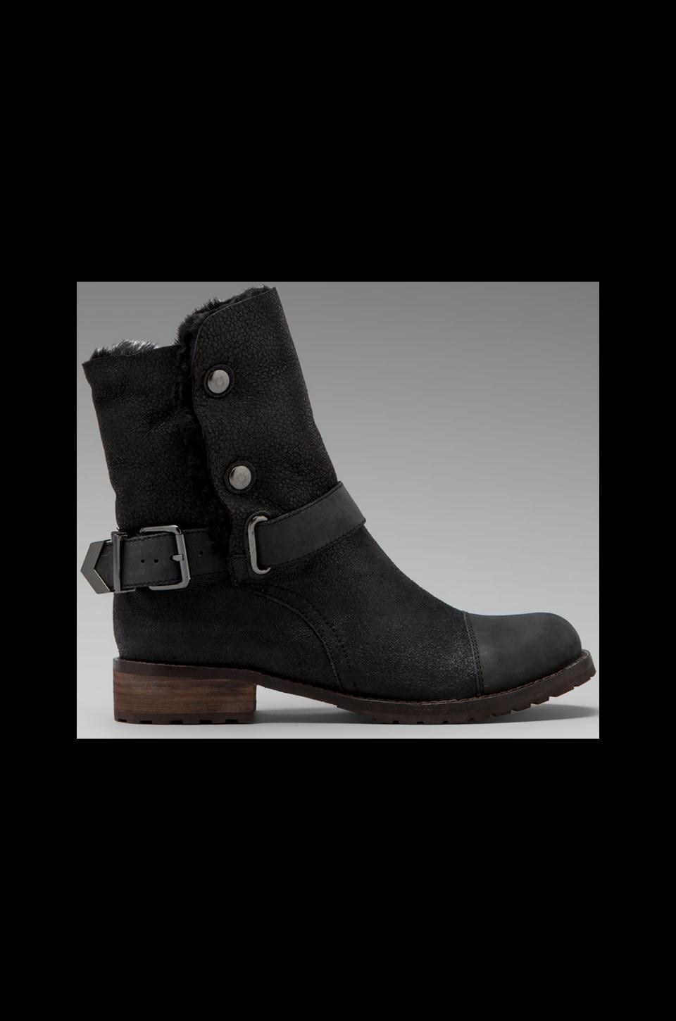 Matt Bernson Tundra Boot in Black Cracked/Black