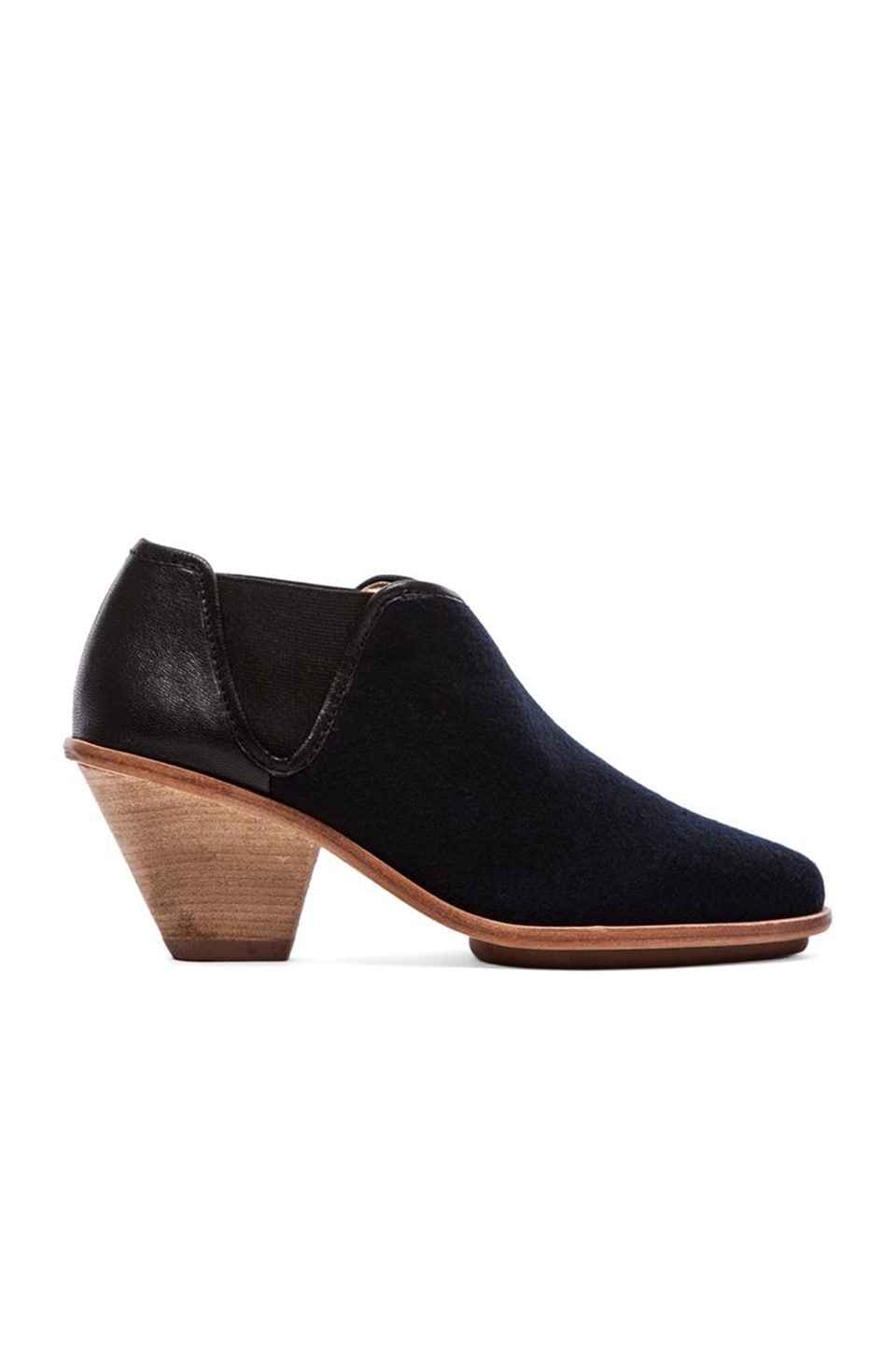 Matt Bernson Marlow Bootie in Black/Navy