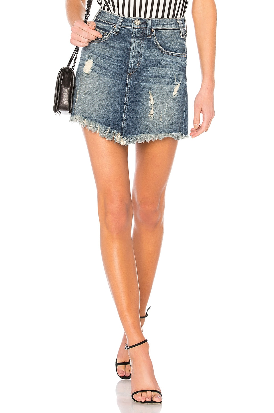 Mcguire IZABEL HIGH RISE MINI SKIRT