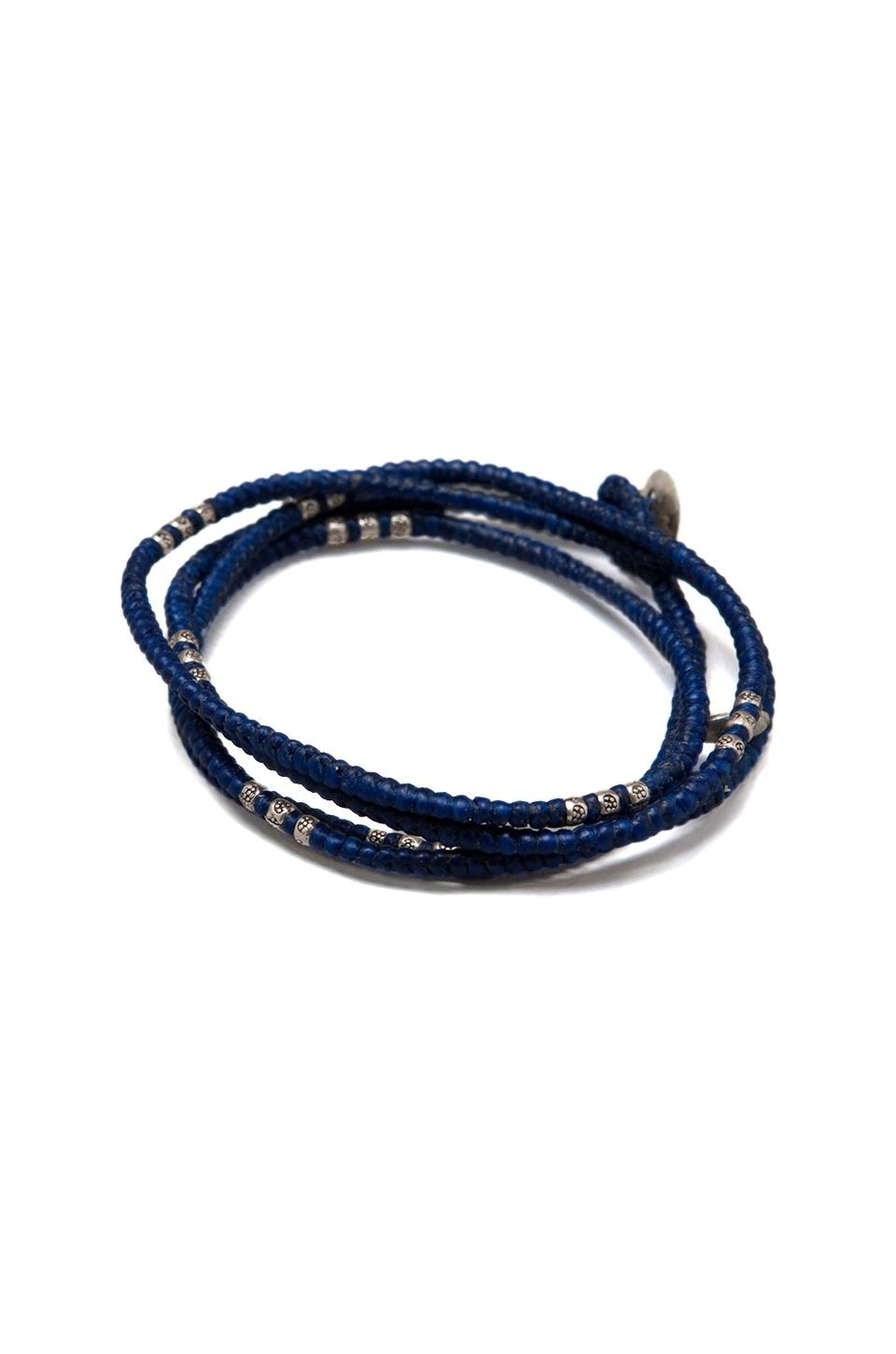 M.Cohen Wrap Bracelet in Blue