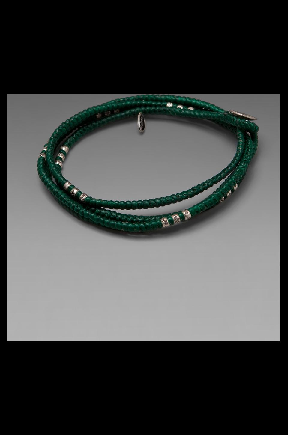 M.Cohen Wrap Bracelet in Green