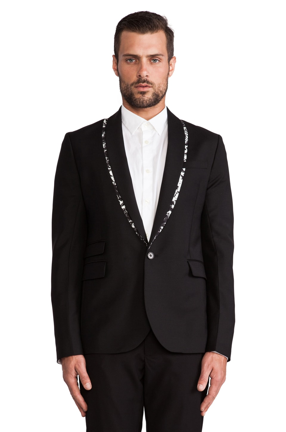 McQ Alexander McQueen McQ Tux in Darkest Black