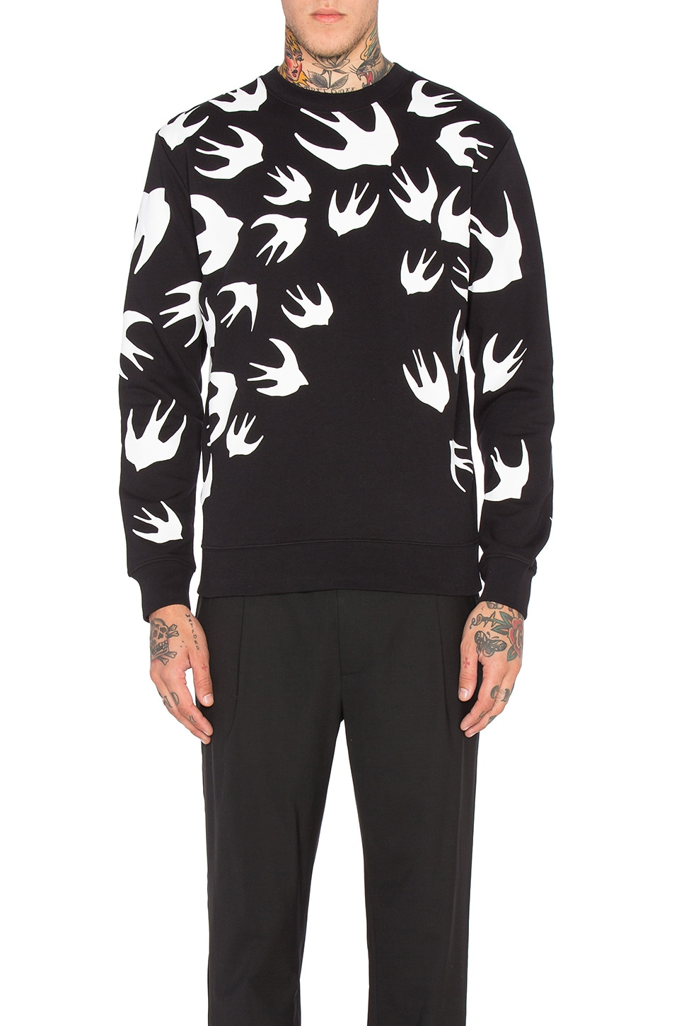 Photo of Clean Crew Neck by McQ Alexander McQueen men clothes