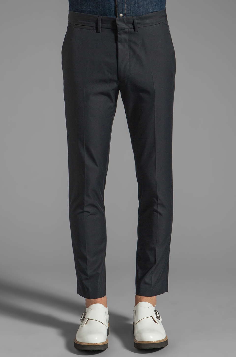 McQ Alexander McQueen Trouser in Deep Navy