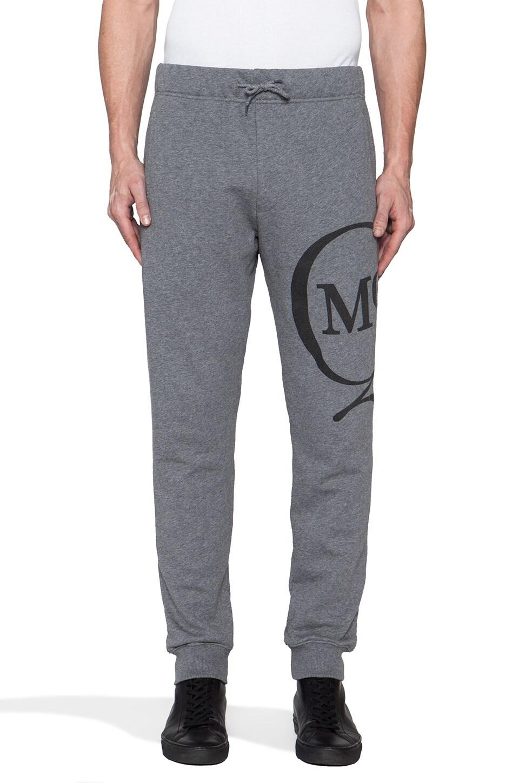 McQ Alexander McQueen Jogging Sweatpant in Grey Melange