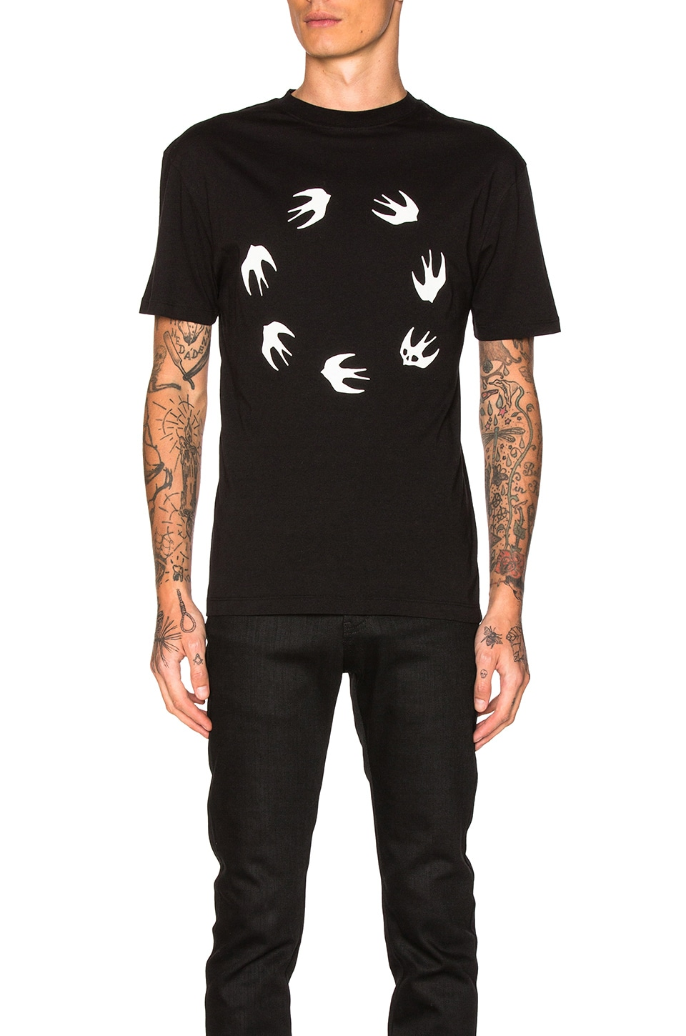 Photo of Dropped Shoulder Tee by McQ Alexander McQueen men clothes