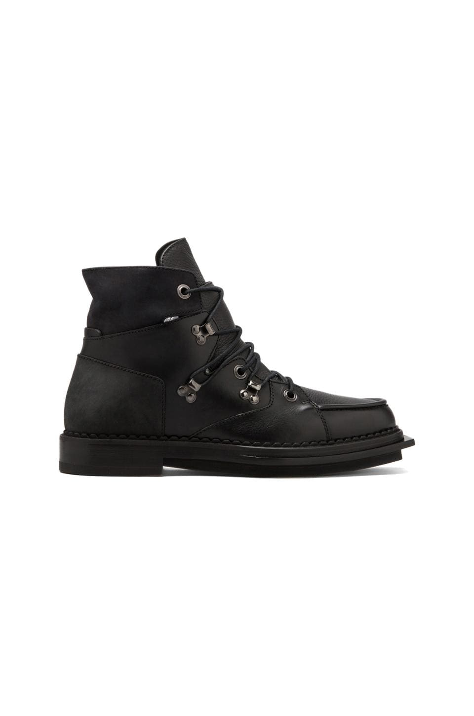McQ Alexander McQueen Lipp Boot in Black