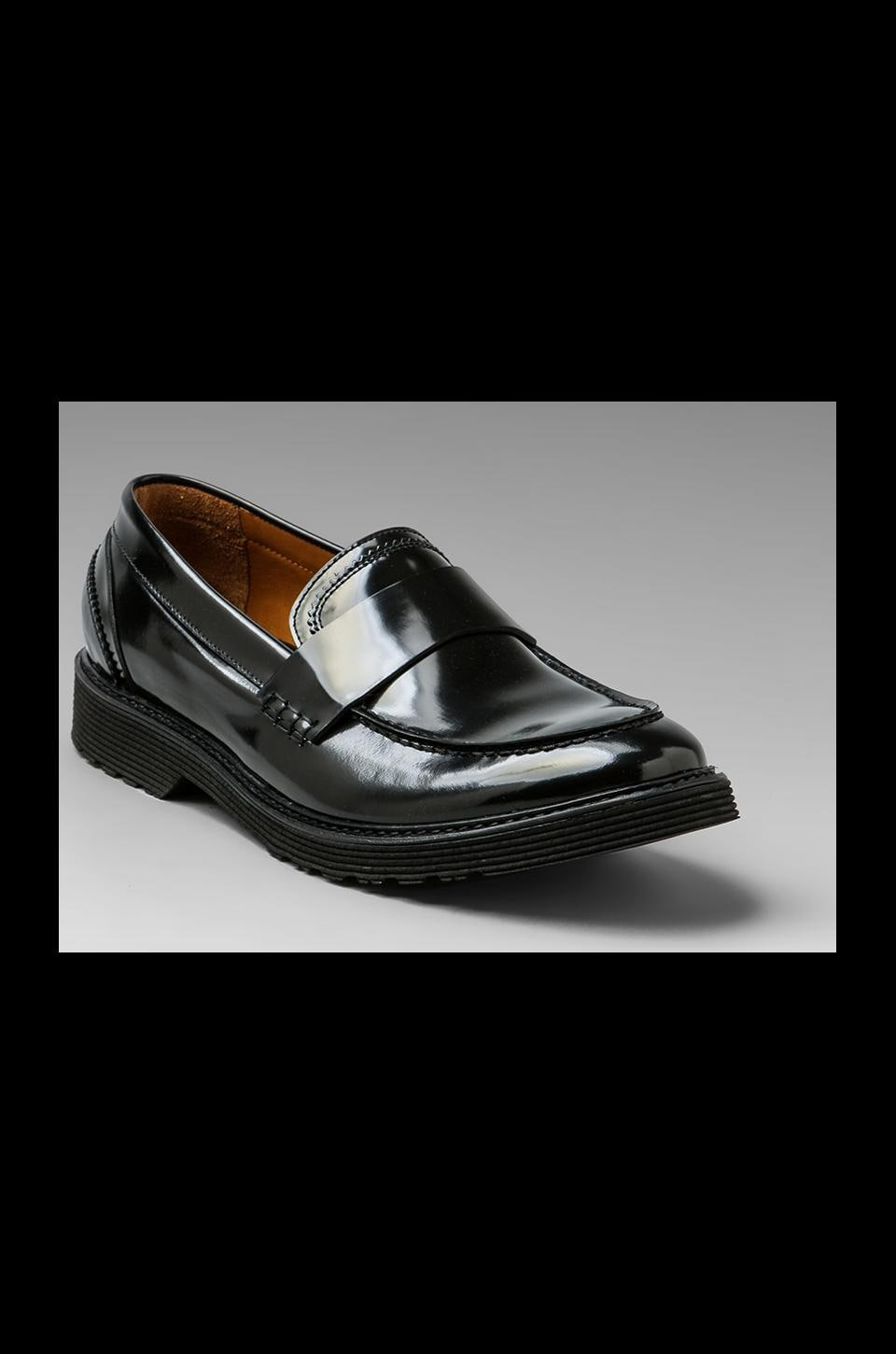 McQ Alexander McQueen Gimped Loafer in Black