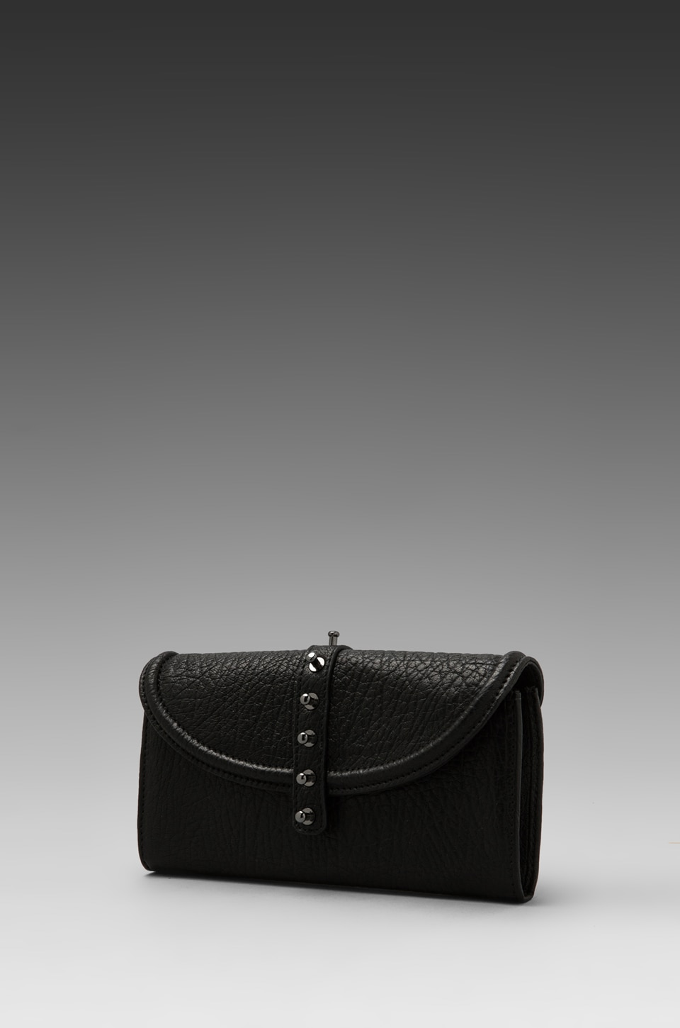 McQ Alexander McQueen Flap Wallet in Black