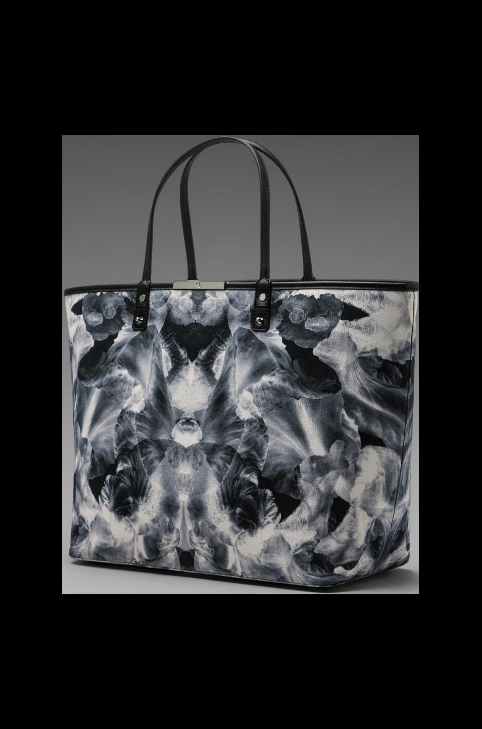 McQ Alexander McQueen Large Tote in Black/White