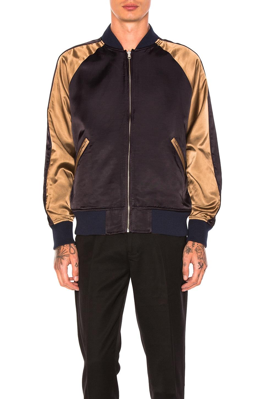 Photo of Reversible Satin Souvenir Jacket by Maiden Noir men clothes