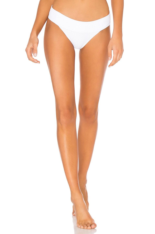 MADE BY DAWN Archer Bikini Bottom in White
