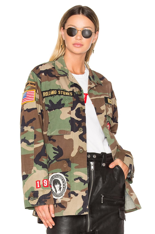 Madeworn Rolling Stones Jacket in Camo
