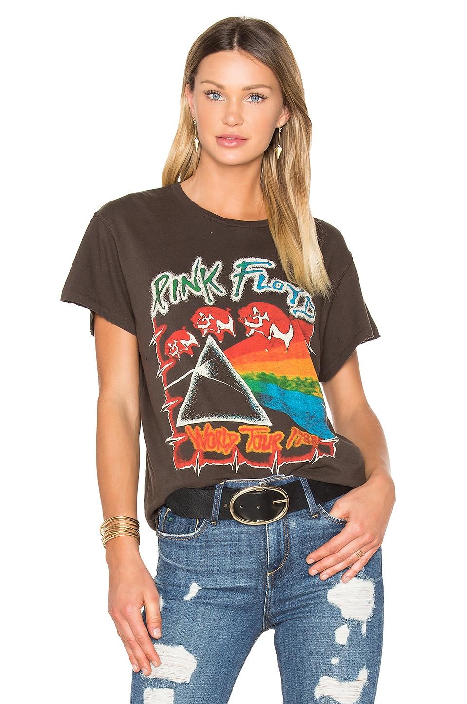 Madeworn Pink Floyd 1980 Tee in Dirty Black