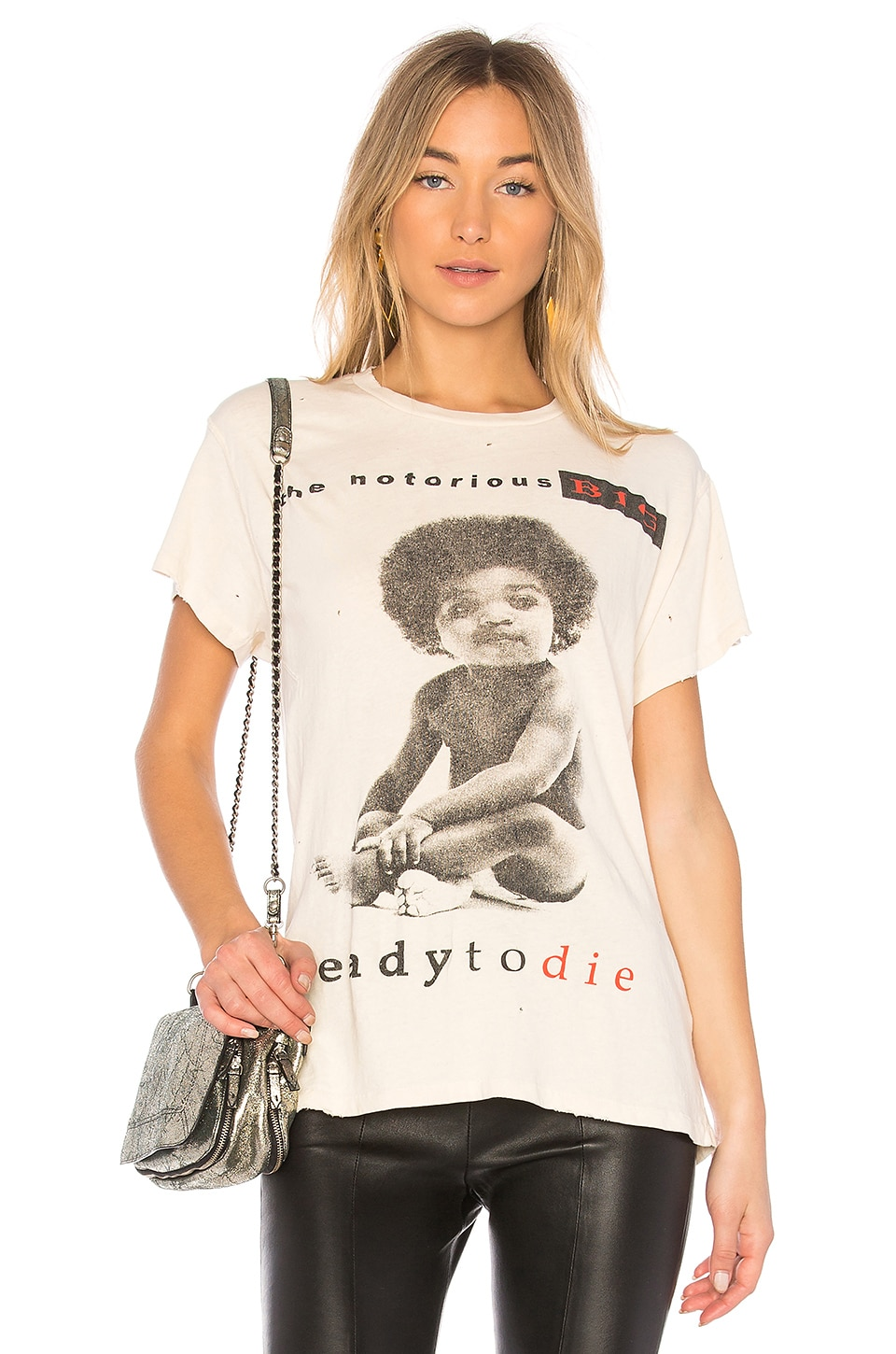 Madeworn BIG Ready To Die Tee in Dirty White