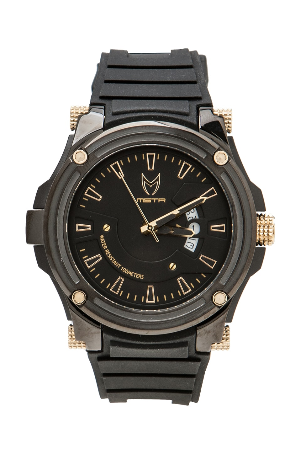 Meister Prodigy in Black w/ Gold