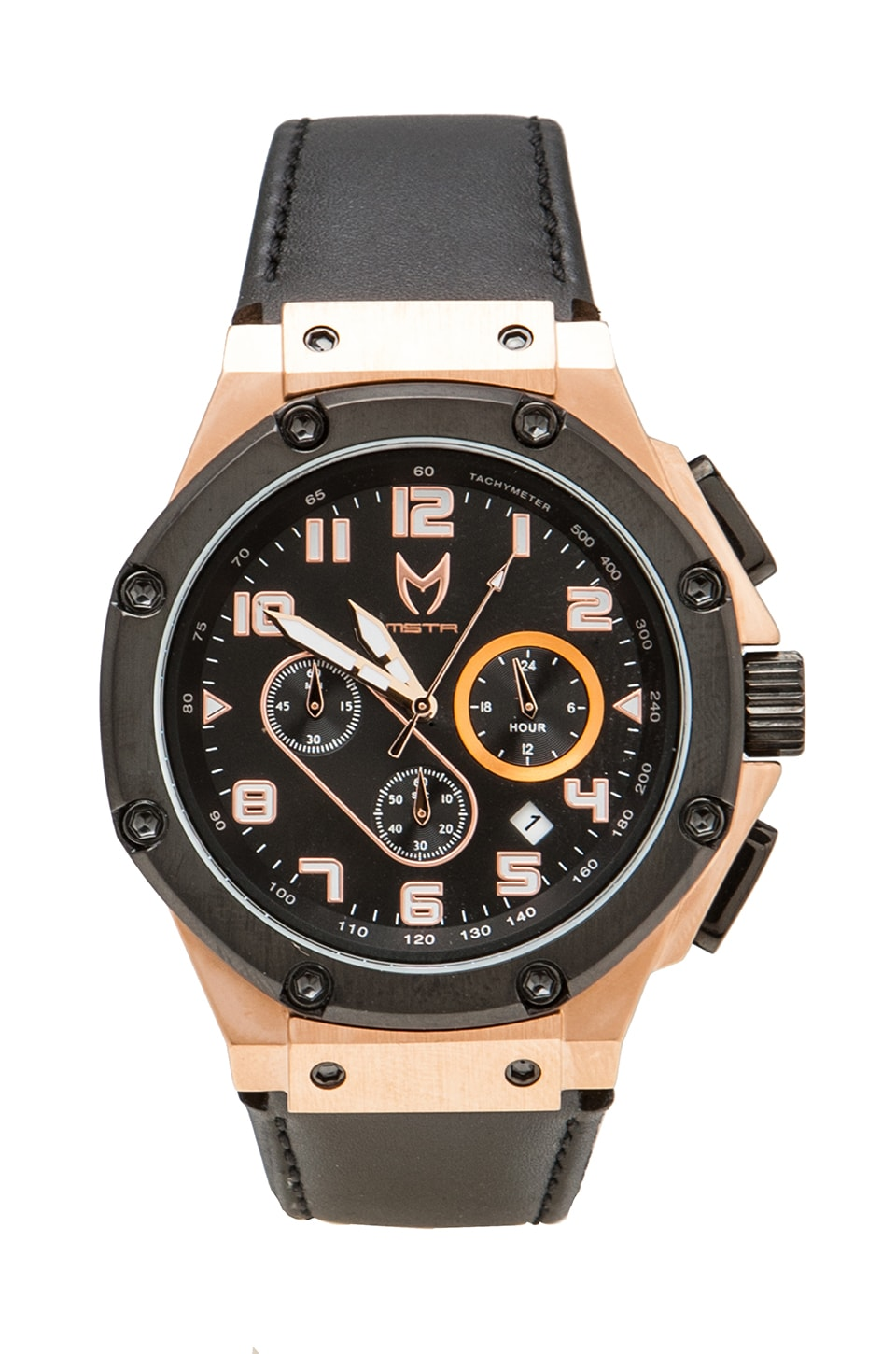Meister Ambassador in Black w/ Rose Gold